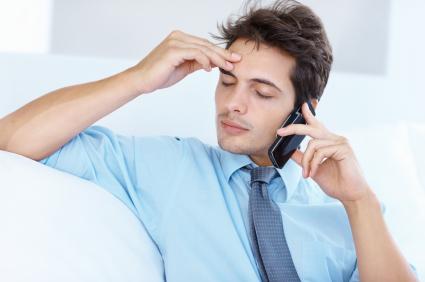 Stressé et fatigué