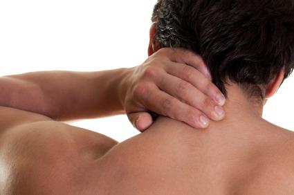 Douleurs cervicales homme
